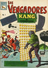 Cover Thumbnail for Los Vengadores (Editora de Periódicos La Prensa S.C.L., 1965 series) #7
