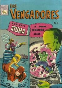 Cover Thumbnail for Los Vengadores (Editora de Periódicos La Prensa S.C.L., 1965 series) #13