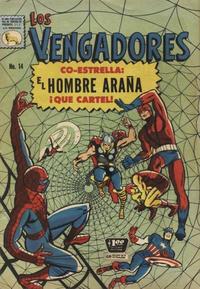 Cover Thumbnail for Los Vengadores (Editora de Periódicos La Prensa S.C.L., 1965 series) #14