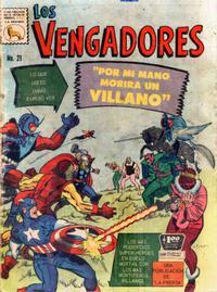 Cover Thumbnail for Los Vengadores (Editora de Periódicos La Prensa S.C.L., 1965 series) #21
