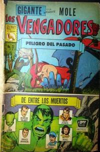 Cover Thumbnail for Los Vengadores (Editora de Periódicos La Prensa S.C.L., 1965 series) #22