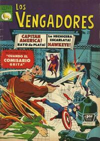 Cover Thumbnail for Los Vengadores (Editora de Periódicos La Prensa S.C.L., 1965 series) #27