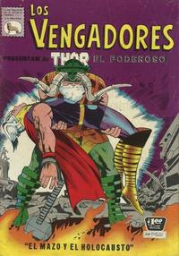 Cover Thumbnail for Los Vengadores (Editora de Periódicos La Prensa S.C.L., 1965 series) #35