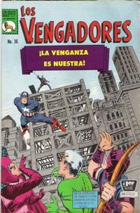 Cover Thumbnail for Los Vengadores (Editora de Periódicos La Prensa S.C.L., 1965 series) #36