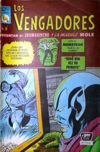 Cover Thumbnail for Los Vengadores (Editora de Periódicos La Prensa S.C.L., 1965 series) #38