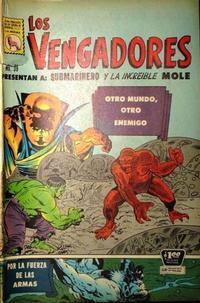 Cover Thumbnail for Los Vengadores (Editora de Periódicos La Prensa S.C.L., 1965 series) #39