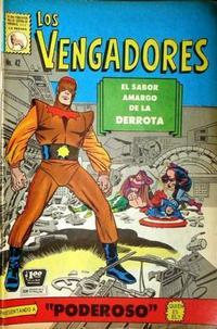 Cover Thumbnail for Los Vengadores (Editora de Periódicos La Prensa S.C.L., 1965 series) #42