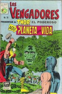 Cover Thumbnail for Los Vengadores (Editora de Periódicos La Prensa S.C.L., 1965 series) #56