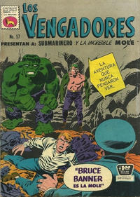 Cover Thumbnail for Los Vengadores (Editora de Periódicos La Prensa S.C.L., 1965 series) #57