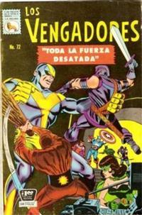 Cover Thumbnail for Los Vengadores (Editora de Periódicos La Prensa S.C.L., 1965 series) #72