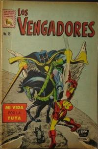Cover Thumbnail for Los Vengadores (Editora de Periódicos La Prensa S.C.L., 1965 series) #75
