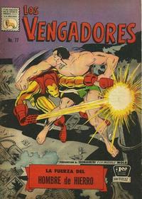 Cover Thumbnail for Los Vengadores (Editora de Periódicos La Prensa S.C.L., 1965 series) #77