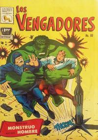 Cover Thumbnail for Los Vengadores (Editora de Periódicos La Prensa S.C.L., 1965 series) #80