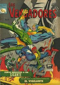 Cover Thumbnail for Los Vengadores (Editora de Periódicos La Prensa S.C.L., 1965 series) #81