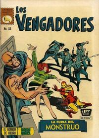 Cover Thumbnail for Los Vengadores (Editora de Periódicos La Prensa S.C.L., 1965 series) #83