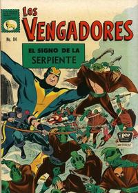 Cover Thumbnail for Los Vengadores (Editora de Periódicos La Prensa S.C.L., 1965 series) #84