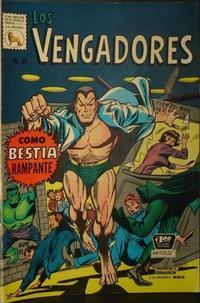 Cover Thumbnail for Los Vengadores (Editora de Periódicos La Prensa S.C.L., 1965 series) #85