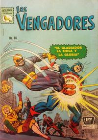 Cover Thumbnail for Los Vengadores (Editora de Periódicos La Prensa S.C.L., 1965 series) #86