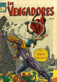 Cover Thumbnail for Los Vengadores (Editora de Periódicos La Prensa S.C.L., 1965 series) #87