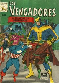 Cover Thumbnail for Los Vengadores (Editora de Periódicos La Prensa S.C.L., 1965 series) #88