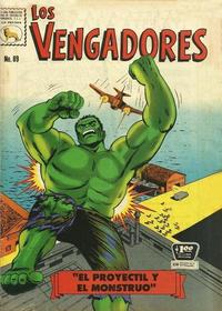 Cover Thumbnail for Los Vengadores (Editora de Periódicos La Prensa S.C.L., 1965 series) #89