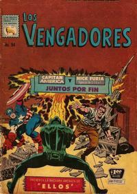 Cover Thumbnail for Los Vengadores (Editora de Periódicos La Prensa S.C.L., 1965 series) #94