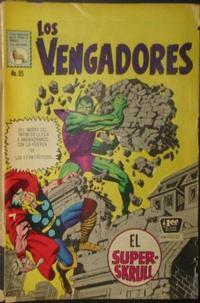 Cover Thumbnail for Los Vengadores (Editora de Periódicos La Prensa S.C.L., 1965 series) #95
