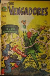 Cover Thumbnail for Los Vengadores (Editora de Periódicos La Prensa S.C.L., 1965 series) #101