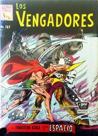 Cover Thumbnail for Los Vengadores (Editora de Periódicos La Prensa S.C.L., 1965 series) #102