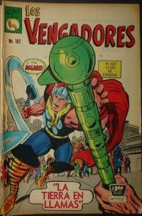 Cover Thumbnail for Los Vengadores (Editora de Periódicos La Prensa S.C.L., 1965 series) #103
