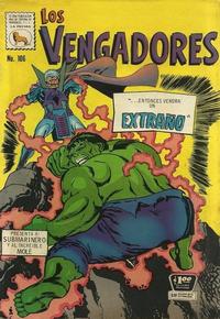 Cover Thumbnail for Los Vengadores (Editora de Periódicos La Prensa S.C.L., 1965 series) #106