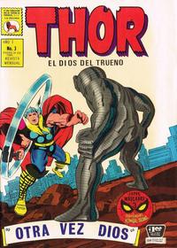 Cover Thumbnail for Thor el Dios del Trueno (Editora de Periódicos La Prensa S.C.L., 1968 series) #3