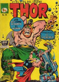 Cover Thumbnail for Thor el Dios del Trueno (Editora de Periódicos La Prensa S.C.L., 1968 series) #36