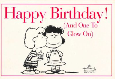 Cover for Happy Birthday! (And One to Glow On!) (Hallmark Books, 1996 series)