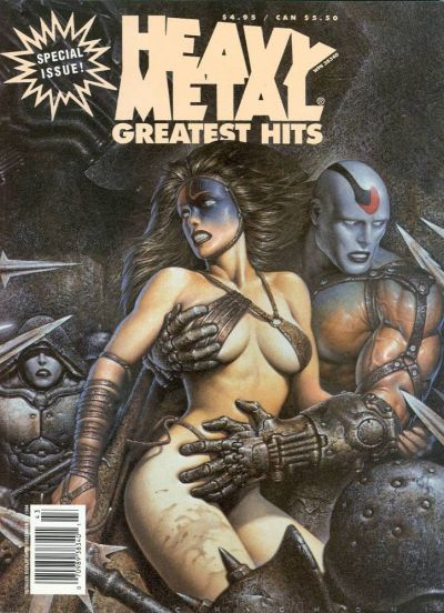 Cover for Heavy Metal Special Editions (Heavy Metal, 1981 series) #v8#2 - Greatest Hits