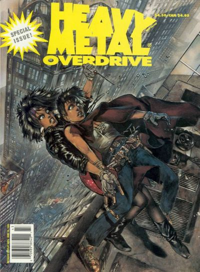Cover for Heavy Metal Special Editions (Metal Mammoth, Inc., 1992 series) #v9#1 - Overdrive