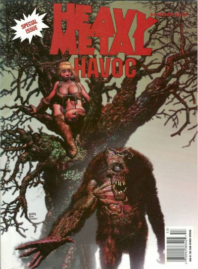 Cover for Heavy Metal Special Editions (Metal Mammoth, Inc., 1992 series) #v9#2 - Havoc