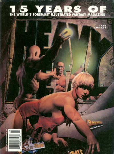 Cover for Heavy Metal Special Editions (Heavy Metal, 1981 series) #v6#4 - 15 Years Of