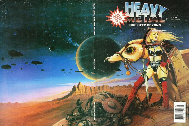 Cover for Heavy Metal Special Editions (Metal Mammoth, Inc., 1992 series) #v10#1 - One Step Beyond