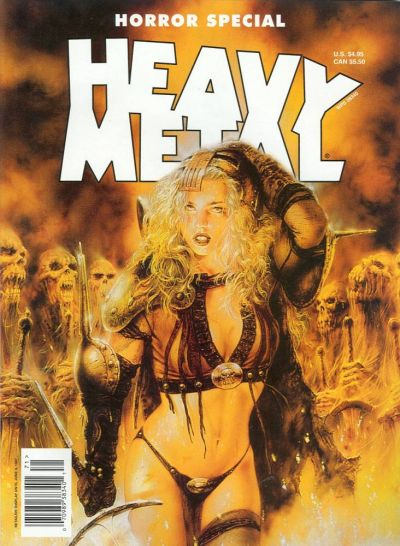 Cover for Heavy Metal Special Editions (Metal Mammoth, Inc., 1992 series) #v11#1 - Horror Special