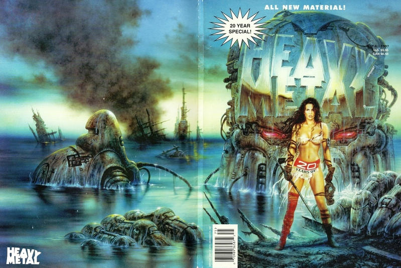 Cover for Heavy Metal Special Editions (Metal Mammoth, Inc., 1992 series) #v11#2 - 20 Years