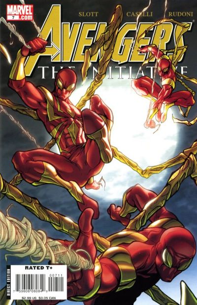 Cover for Avengers: The Initiative (Marvel, 2007 series) #7