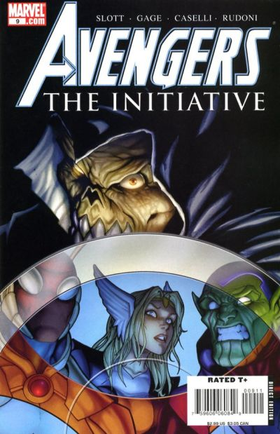 Cover for Avengers: The Initiative (Marvel, 2007 series) #9