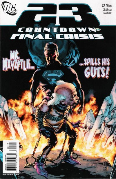Cover for Countdown (DC, 2007 series) #23
