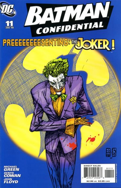 Cover for Batman Confidential (DC, 2007 series) #11