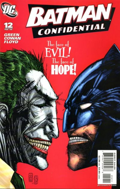 Cover for Batman Confidential (DC, 2007 series) #12