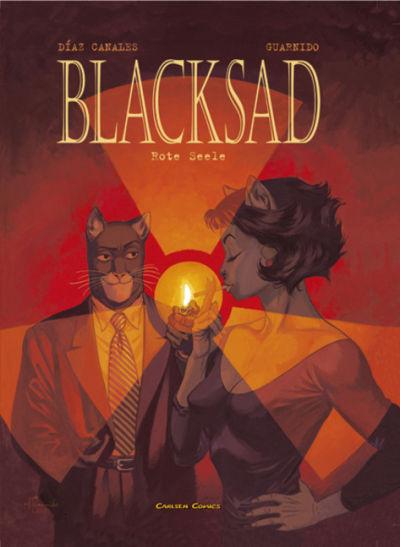 Cover for Blacksad (Carlsen Comics [DE], 2001 series) #3 - Rote Seele