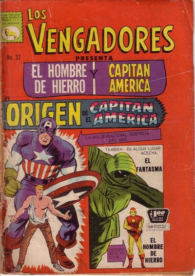 Cover for Los Vengadores (Editora de Periódicos La Prensa S.C.L., 1965 series) #32