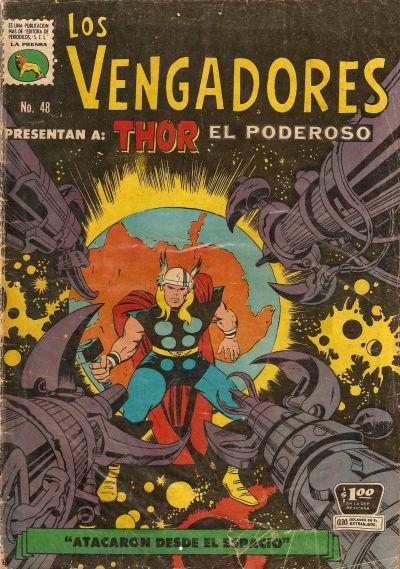 Cover for Los Vengadores (Editora de Periódicos La Prensa S.C.L., 1965 series) #48