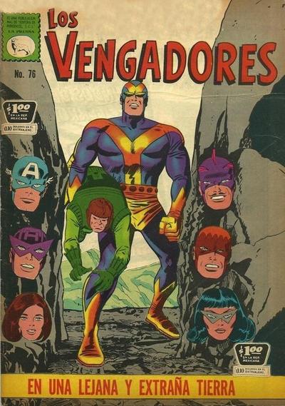 Cover for Los Vengadores (Editora de Periódicos La Prensa S.C.L., 1965 series) #76